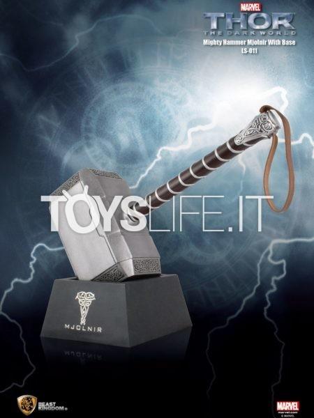 Beast Kingdom Toys Marvel Thor 2 Mighty Hammer Mjolnir 1:1 Lifesize Replica