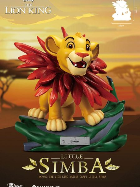 Beast Kingdom Toys Disney The Lion King Mastercraft Little Simba Statue