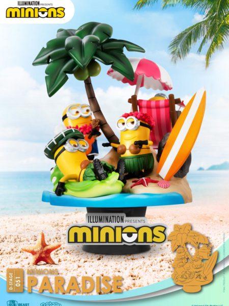 Beast Kingdom Toys Minions Paradise Pvc Diorama