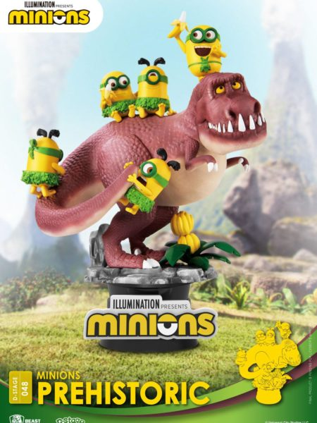 Beast Kingdom Toys Minions Prehistoric Pvc Diorama