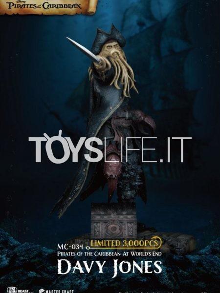 Beast Kingdom Toys Pirates Of The Caribbean Davy Jones Mastercraft Statue