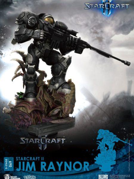 Beast Kingdom Toys Starcraft II Jim Raynor Pvc Diorama
