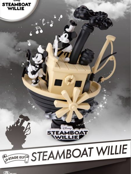 Beast Kingdom Toys Disney Steamboat Willie Pvc Diorama