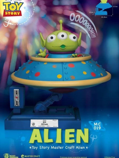 Beast Kingdom Disney Pixar Toy Story Alien Mastercraft Statue
