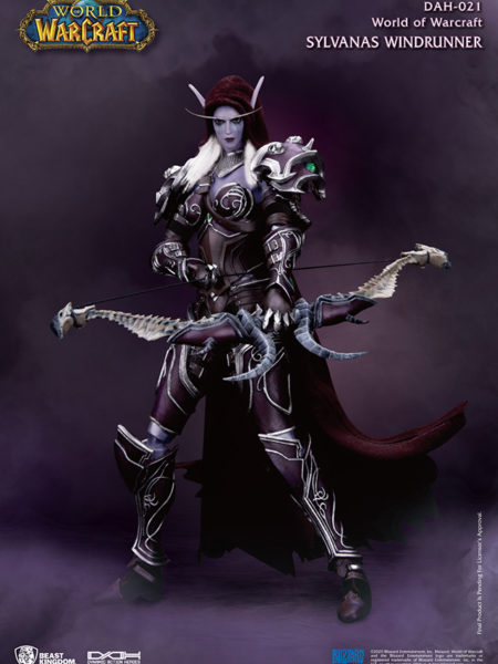 Beast Kingdom Toys World of Warcraft Battle for Azeroth DAH Sylvanas Windrunner 1/9 Figure