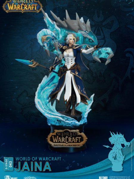 Beast Kingdom Toys World of Warcraft Jaina Pvc Diorama