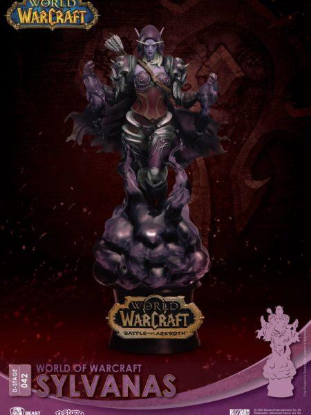 Beast Kingdom Toys World of Warcraft Sylvanas Pvc Diorama