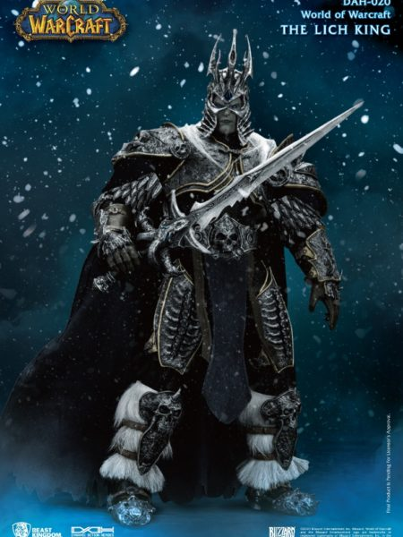 Beast Kingdom Toys World of Warcraft Wrath Of Lich King DAH Arthas Menethil 1/9 Figure