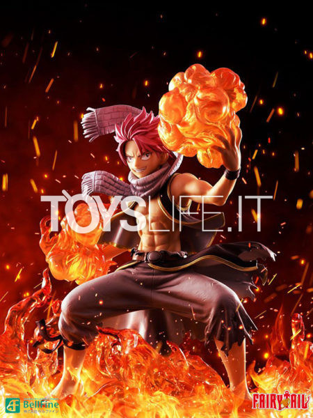 Bellfine Fairy Tail Final Season Natsu Dragneel 1:8 Pvc Statue