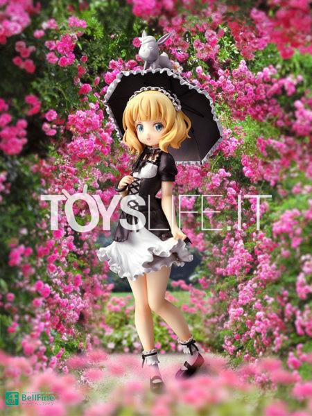 Bellfine Is the Order a Rabbit Bloom Syaro Gothic Lolita Version 1:7 Pvc Statue