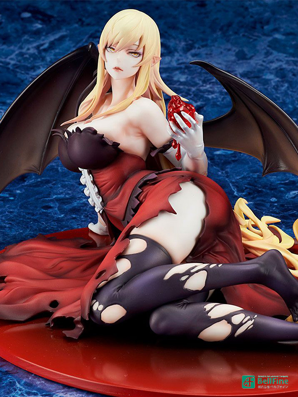 Bellfine Kizumonogatari Kiss-Shot Acerola-Orion Heart-Under-Blade 1:7 Pvc Statue