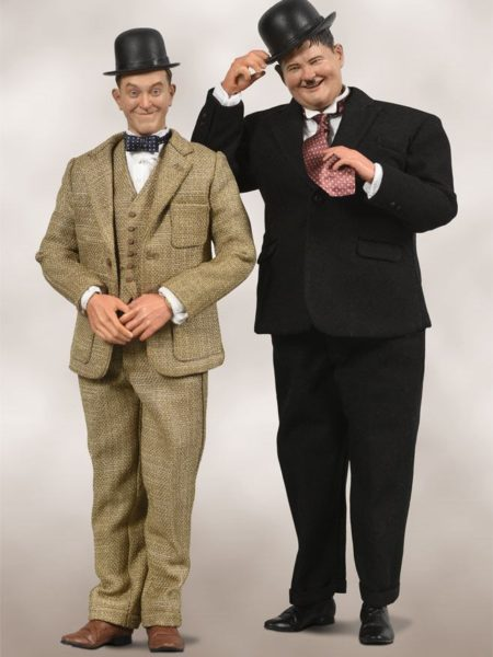 Big Chief Laurel and Hardy Classic Suits 1:6 Figure Set