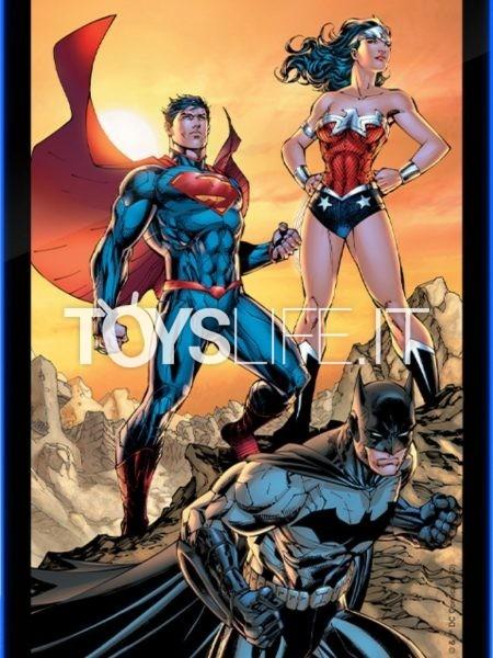 Brandlite DC Comics Batman Superman & Wonder Woman DC Trinity Led Poster Sign
