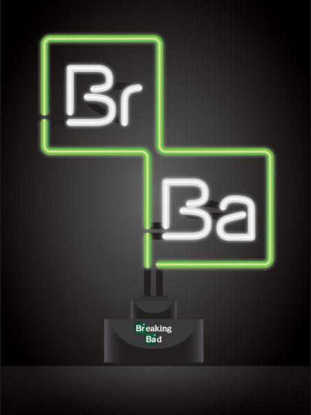 Breaking Bad Logo Neon Lampada