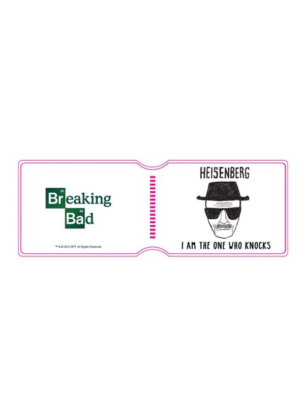 Breaking Bad Heisenberg Travel Pass Holder Portadocumenti