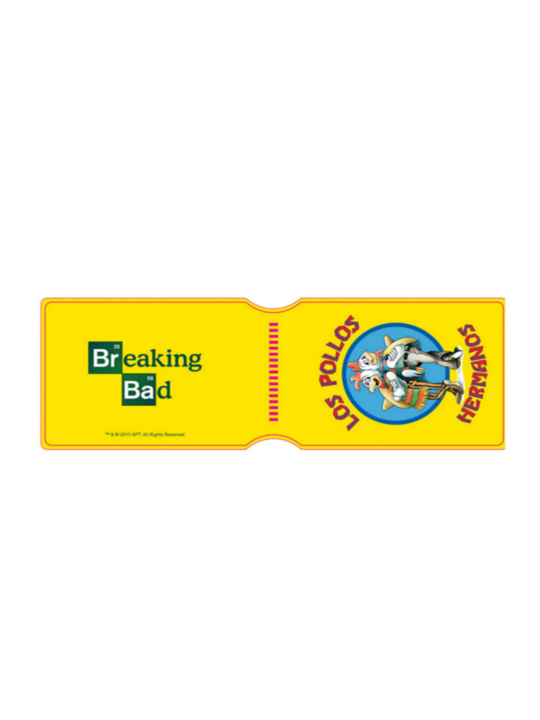 Breaking Bad Los Pollos Hermanos Travel Pass Holder Portadocumenti