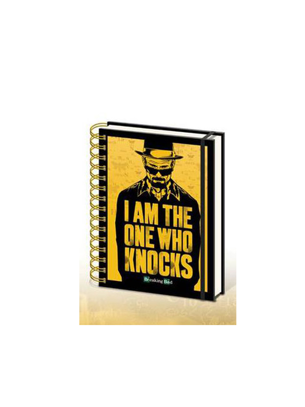 Breaking Bad Heisenberg I am The One Who Knocks Notebook