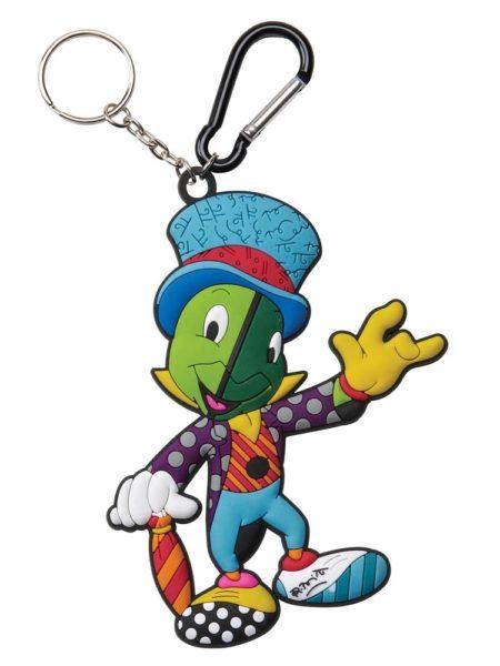 Britto Jiminy Cricket Grillo Parlante Keychain