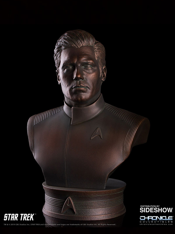 Chronicle Collectibles Star Trek TNG Captain Christopher Pike 1:2 Bronze Bust