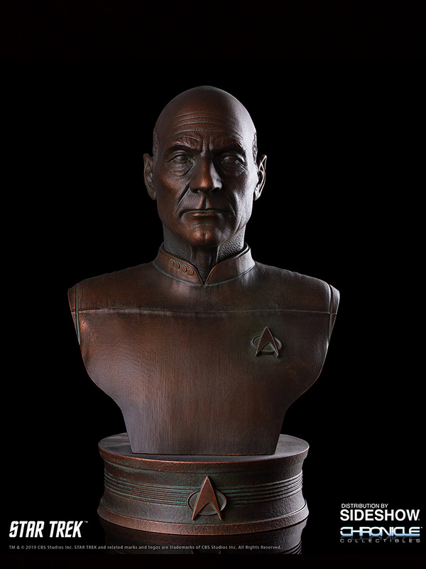 Chronicle Collectibles Star Trek TNG Captain Jean Luc Picard 1:2 Bronze Bust