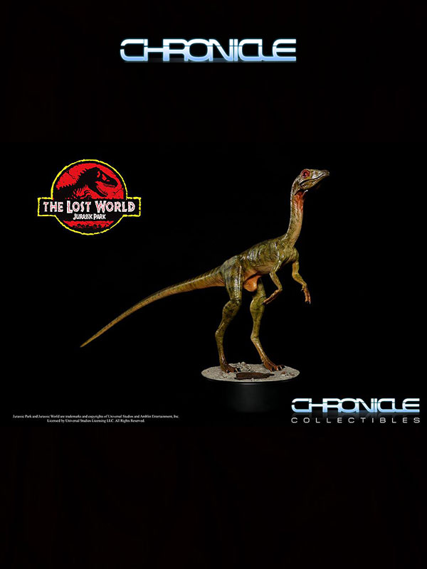 Chronicle Collectibles Jurassik Park Lost World Compsognathus 1:1 Statue