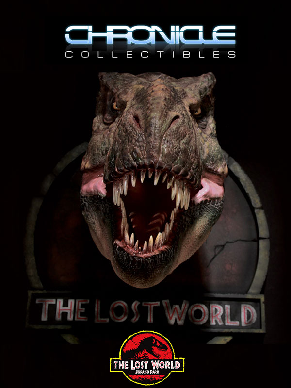 Chronicle Collectibles Jurassik Park The Lost World T-Rex Bust