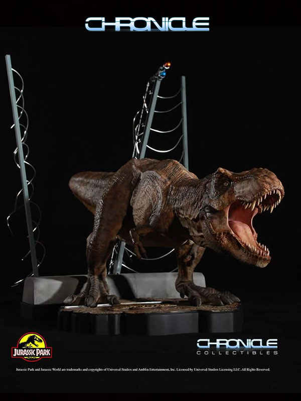 Chronicle Collectibles T-Rex Breaking Out Statue