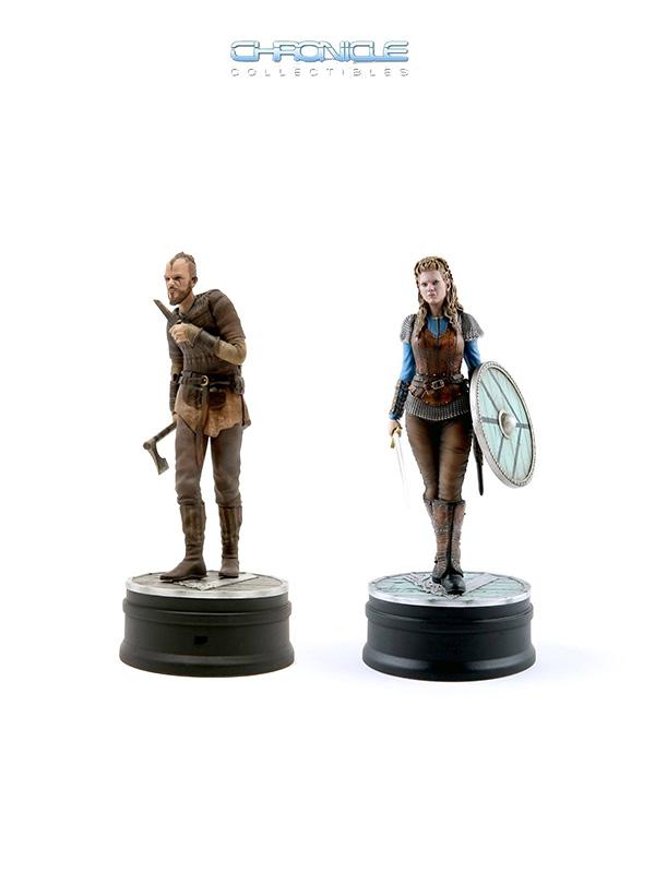 Chronicle Collectibles Vikings Floki/Lagertha 1:9 Statue