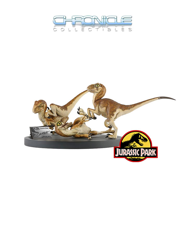 Chronicle Collectibles Jurassik Park Crash McCreery's Baby Raptors