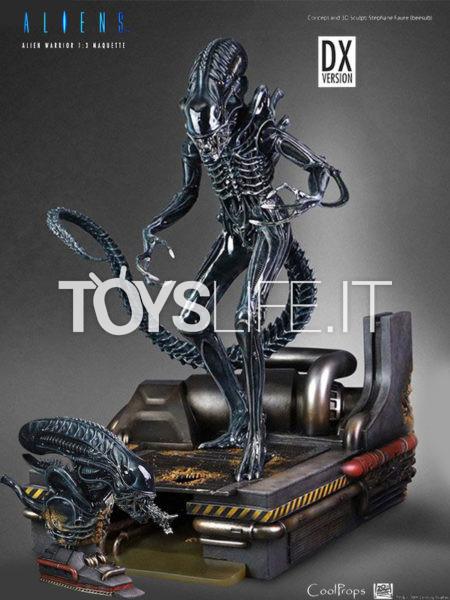 CoolProps Aliens Alien Warrior 1:3 Deluxe Statue