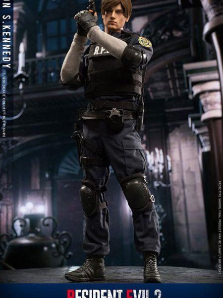 Damtoys Resident Evil 2 Leon S. Kennedy 1:6 Figure