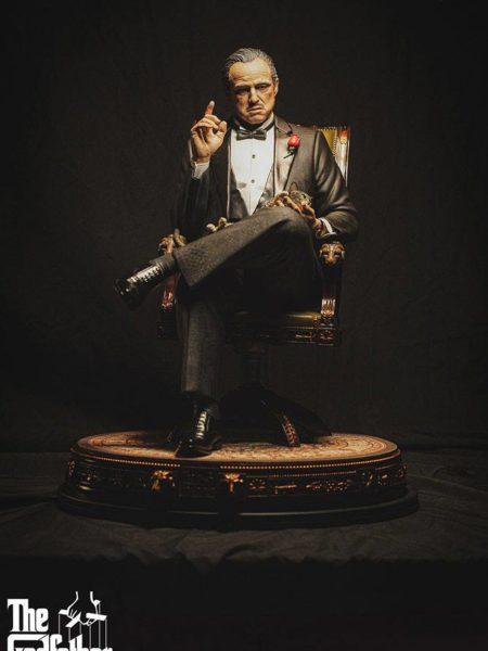 Damtoys The Godfather Vito Andolini Corleone 1972 1:3 Statue