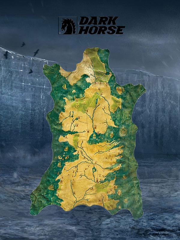 Dark Horse Game of Thrones Westeros Map Replica 1:1