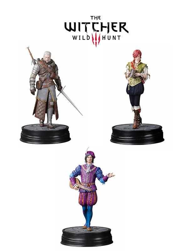 Dark Horse The Witcher 3 Wild Hunt Geralt Granmaster Ursine Shani & Dandelion Pvc Statues