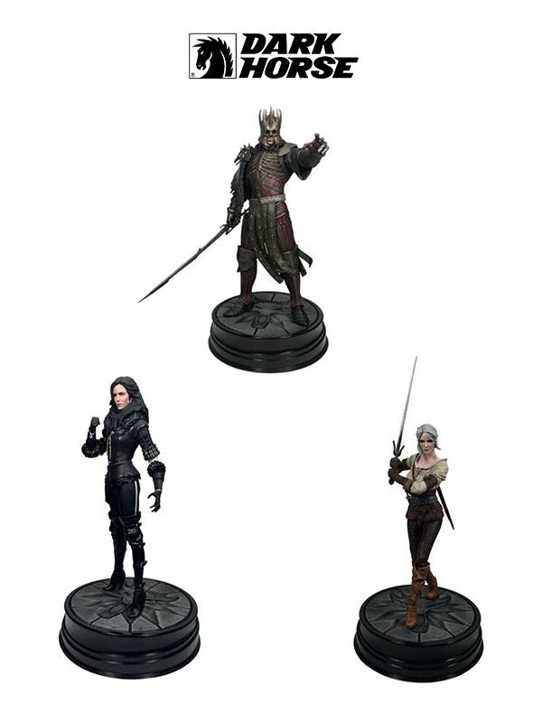 Dark Horse The Witcher 3 Wild Hunt Eredin Yennefer & Triss Pvc Statues