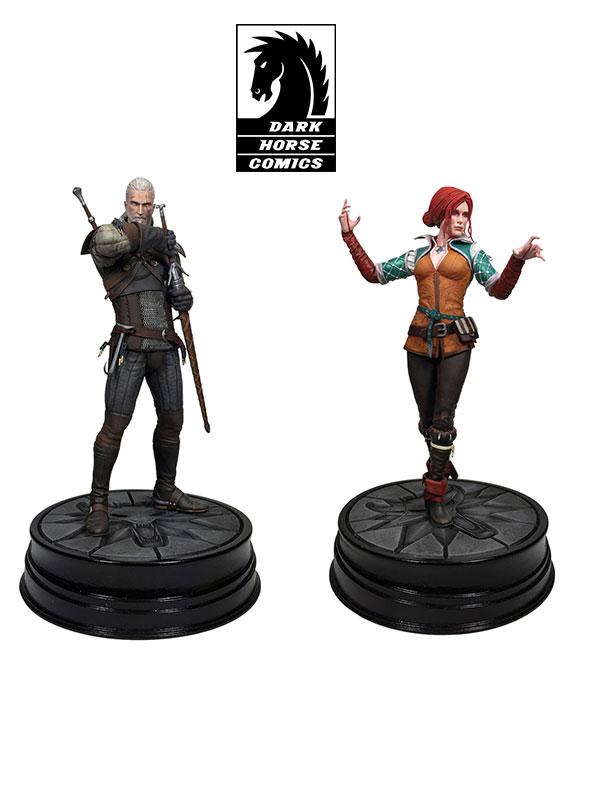 Dark Horse The Witcher 3 Wild Hunt Geralt & Triss Pvc Statues