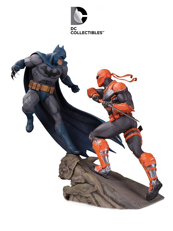 DC Direct Batman Vs Deathstroke Battle Diorama