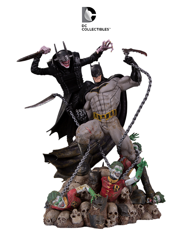 DC Comics Batman Who Laughs vs. Batman Battle Statue