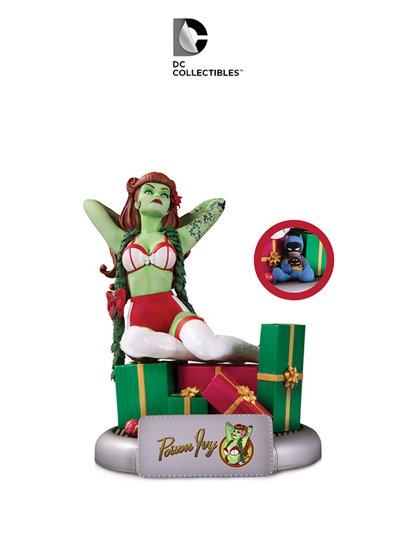 DC Bombshells Poison Ivy Christmas Variant Statue