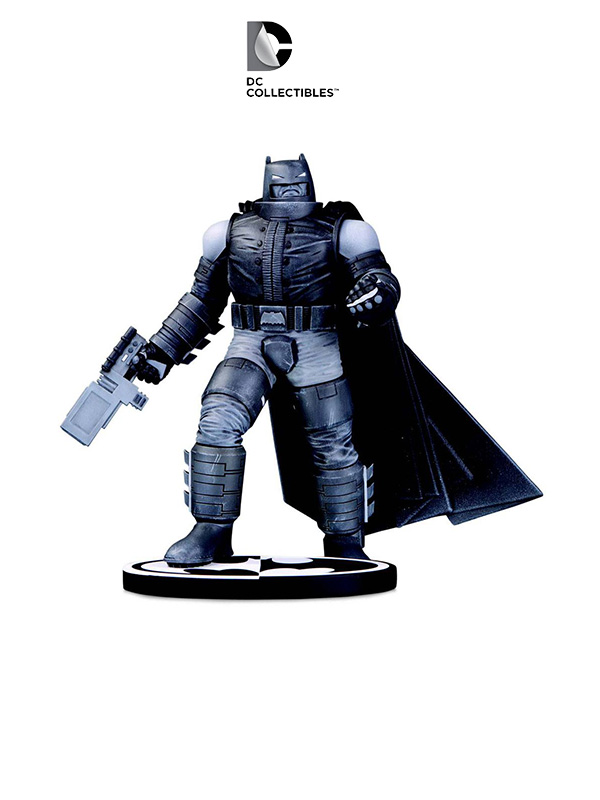DC Comics Batman Black and White Armored Batman Statue by Frank Miller