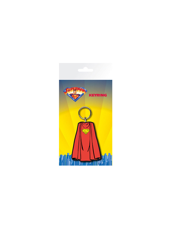 Dc Comics Superman Rubber Keychain Portachiavi
