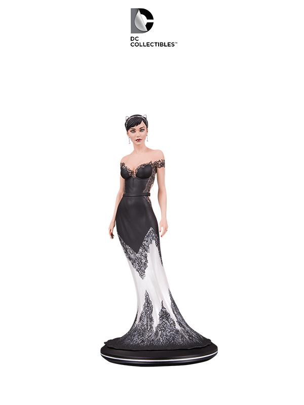 DC Cover Girls Catwoman Wedding Dress Statue by Joelle Jones