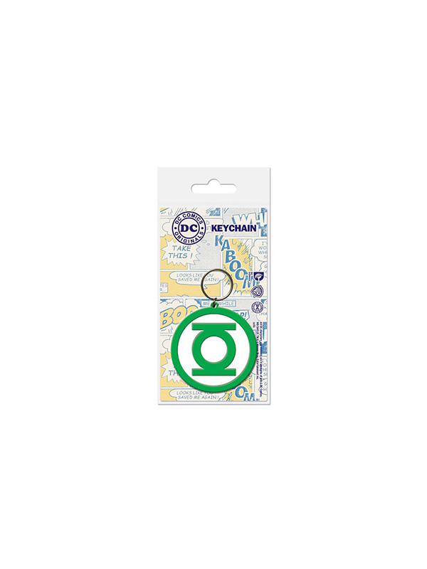 DC Green Lantern Rubber Keychain Portachiavi