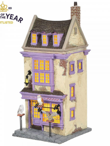 Department 56 Harry Potter Eeyolps Owl Emporium Light-up Statue