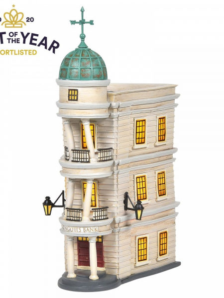 Department 56 Harry Potter Gringotts Bank Light-up Statue