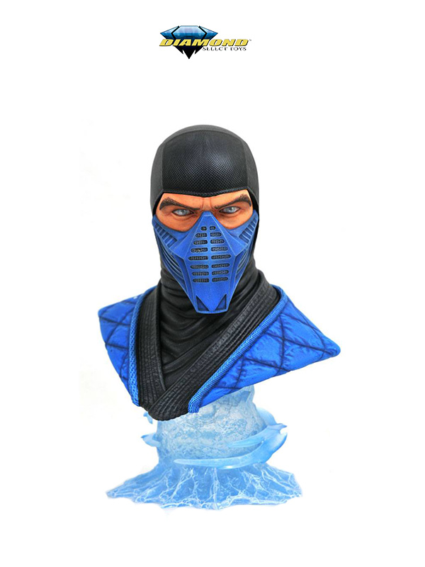 Diamond Select Legends in 3D Mortal Kombat Sub-Zero 1:2 Bust