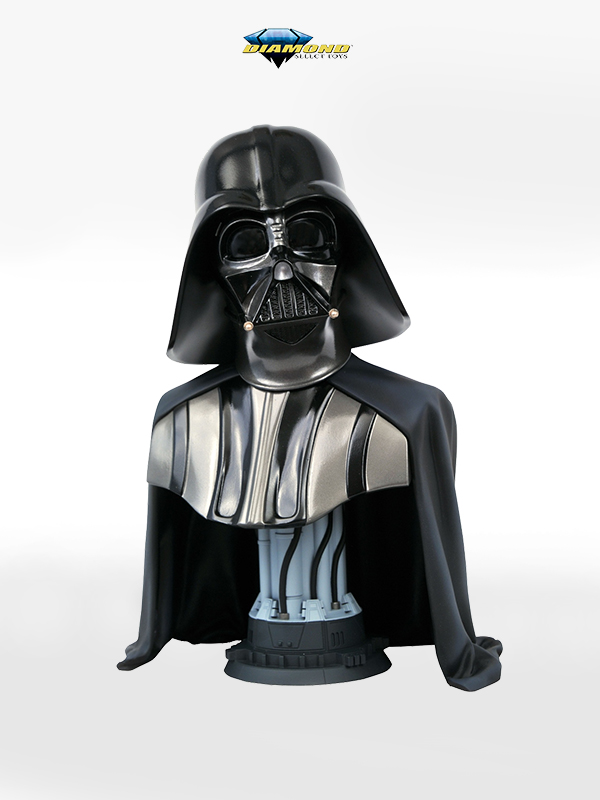 Diamond Select Star Wars Legends In 3D Episode IV Darth Vader 1:2 Bust