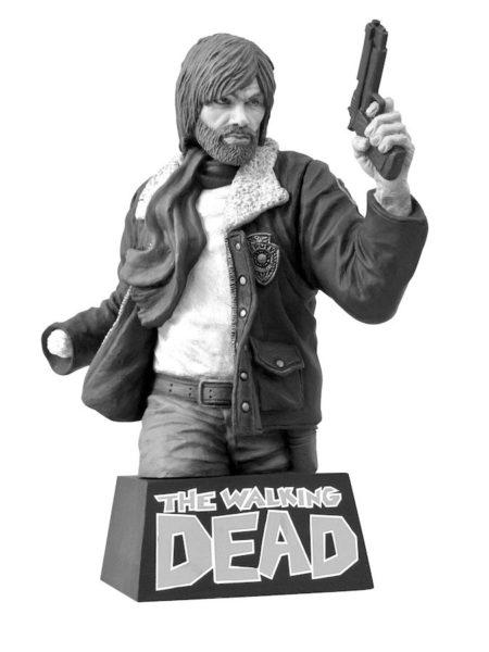 Diamond Select The Walking Dead Rick Grimes Black & White Coin Bank Salvadanaio
