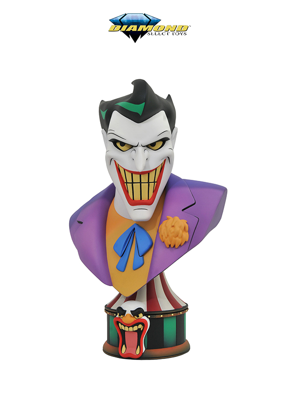 Diamond Select DC Comics Batman Animated Series Legends in 3D The Joker 1:2 Bust