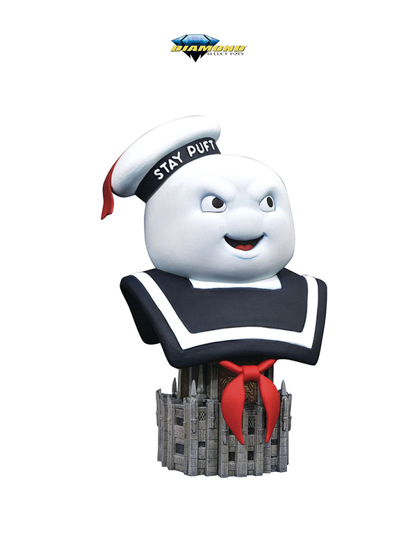 Diamond Select Legends in 3D Ghostbusters Stay Puft 1:2 Bust